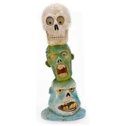 Adorno Zombie Totem de Cabezas ZBR 6